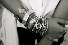 bangles and bracelets and bling, oh my!