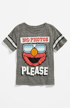 Mighty Fine 'No Photos Please' T-Shirt (Toddler) available at #Nordstrom
