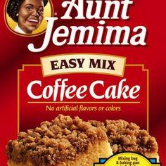 Aunt Jemima Coffee Cake @keyingredient