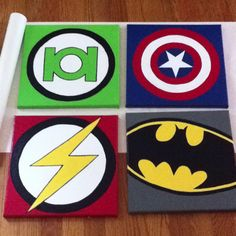 15$ and a rainy day, just one step closer to a super hero room!!
