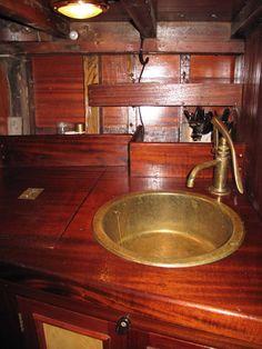 "Johan Anker 46 ft Gaff rigged 9 Metre R 1907 boat ""Pandora"""