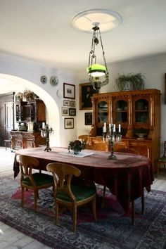 Dwór w Koszutach — Foto Marek i Ewa Wojciechowscy Mansions Homes, Manor Houses, Vintage Interiors, Lany, Beautiful Interiors, Decoration, My Dream Home, French Country, Interior And Exterior