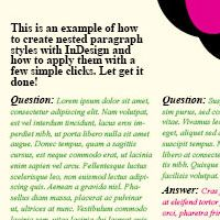 Creating a Question and Answer Format with InDesign Nested Styles (via vector.tutsplus.com)