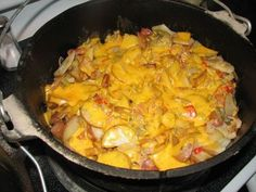 Dutch oven spuds
