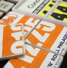 MUST HAVE to celebrate NYC 11.4.12!     Custom Race Bib Coasters Triathlon Marathon Running. $22.00, via Etsy.