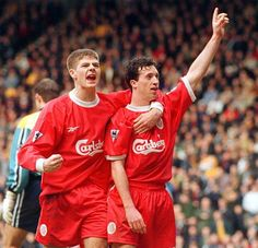 Two legends who will never be forgotten. God Robbie Fowler and The Saint Stevie G.