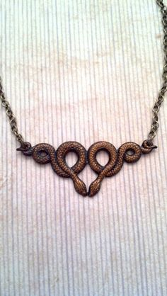 House Serpent Necklace