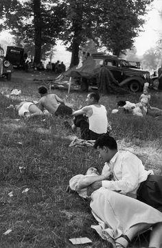 Bois de Vincennes 1952 Henri Cartier-Bresson