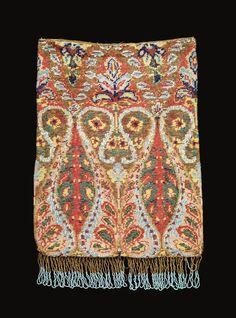 #Beadwork bag | Corning Museum of #Glass #cmogbeads