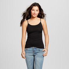 Women's Favorite Cami Black XS - Merona