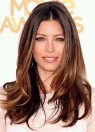 brunette balayage straight hair - Google Search