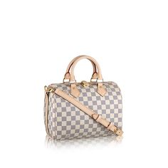 Speedy Bandoulière 25 Damier Azur Canvas - Handbags | LOUIS VUITTON
