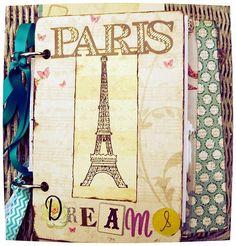 Cover view of Paris Dreams Junk/Smash Journal