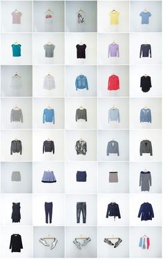 The Complete Capsule Wardrobe Spring Summer 2015 by The Organized Cardigan