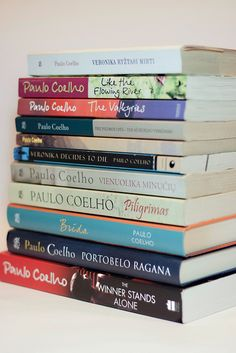 [51/365] My collection of Paulo Coelho books by , via Flickr