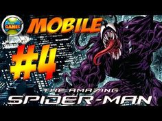 The Amazing Spider Man Mobile Parte #4 Java Game Touch