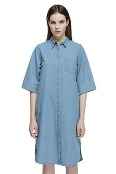 Sila Shirt Dress