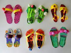 NOVÁ KOLEKCE LETNÍ OBUVI | Výtvarná výchova  #obuv #boty #bota #letni_obuv #sandale #sandaly #zabky #pantofle #prace_s_papirem #papirove_boty #nova_kolekce_bot #vytvarna_vychova #vytvarka #vytvarne_tvoreni #tvorime #rucni_prace #preskolaci #vytvarne_napady #vytvarna_inspirace #shoes #sandals #slippers #work_with_paper #paper_diy #paper_creation #leto #summer #summer_shoes #kidsart #kidscraft #preschoolart #artatschool Summer Crafts, Diy And Crafts, Crafts For Kids, Comic Book Template, Art For Kids, Techno, The Originals, Slippers, Sandals