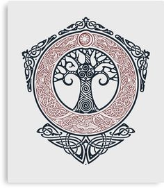 Ideas Life Tree Tattoo Celtic Tatoo For 2019 Viking Symbols, Viking Runes, Viking Art, Ancient Symbols, Viking Knotwork, Mayan Symbols, Egyptian Symbols, Yggdrasil Tattoo, Norse Tattoo