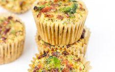 Deze muffins kun je als ontbijt, lunch, diner of snack eten. Eigenlijk altijd, overal.