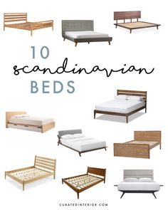 10 Best Scandinavian Beds for a Nordic style home decor diy nordic style 10 Best Scandinavian Beds for the Nordic Minimalist Scandinavian Bedding, Scandinavian Interior, Scandinavian Style, Nordic Style, Minimalist Scandinavian, Minimalist Bedroom, Amazon Home Decor, Types Of Beds, Décor Boho
