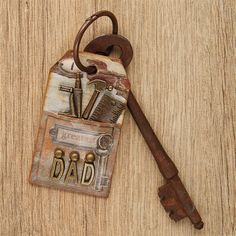 Use the Mr Smith's Workshop Charm Pack to make this cool keyring.