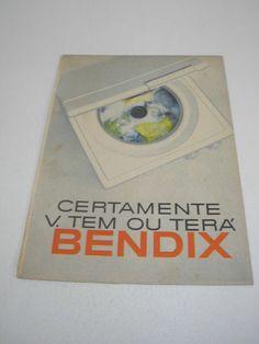 ( L - 290 ) Propaganda Antiga Máquina De Lavar Bendix ?? - R$ 62,00 no MercadoLivre