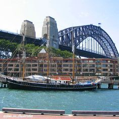Harbour Bridge Sydney #sydney #harbourbridge #australia #сидней #австралия by visa_to_australia http://ift.tt/1NRMbNv