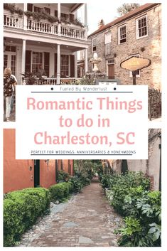 The Most Romantic Things to Do in Charleston SC - Looking to spend a romantic weekend in Charleston, SC? There are plenty of romantic things to do in - Charleston Sc Things To Do, Charleston Sc Restaurants, Charleston Style, Visit Charleston Sc, Charleston Chew, Downtown Charleston Sc, Charleston Beaches, Romantic Vacations, Romantic Getaways