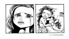 Il y a quelque temps, on avait publié des dessins de la talentueuse Cassandra Calin, jeune illustratrice de 21 ans installée à Montréal, au Canada, basés sur les galères de filles, au quotidien. Si son coup d...