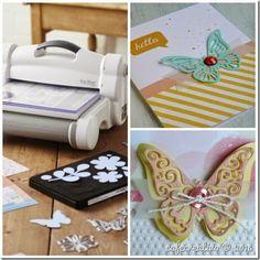 [Sizzix] Big Shot PLUS Starter Kit e fustelle farfalla