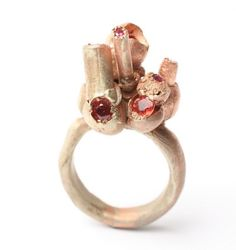 """I love Karl Fritsch distinctive design ideas regarding the unique rings he creates, truly art pieces that you can take anywhere on your finger."" 