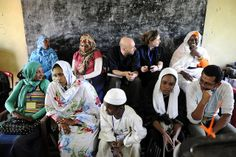 European Union election observers in Umkura (Sudan) (photo credit: Ezequiel Scagnetti)
