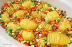 Yummy Food, Tasty, Pasta Salad, Roman, Bacon, Food And Drink, Potatoes, Cookies, Ethnic Recipes