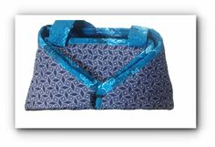 2-in-1 Indigo Shweshwe & floral Blue Shweshwe Ironing caddy /ironing mat by gogothabo on Etsy