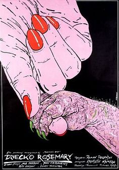 Polish poster for Rosemary's Baby
