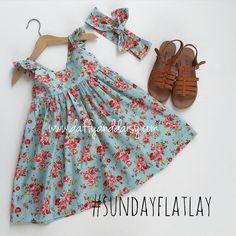 #daffyanddaisy #papillondress #eleanorfloralfabric #handmade #ootd #flatlay #instastyle #kidsfashion