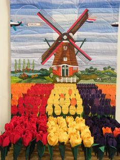 Dutch  scene quilt