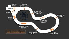 002 dirty dash utah course map this is a sample of our