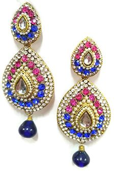 Ddivaa Elegant Look Indian Bollywood Pink & Blue Stone Pa... https://www.amazon.com/dp/B072M6SZ5W/ref=cm_sw_r_pi_dp_x_36-nzbV73RXYY