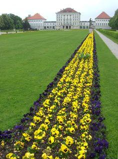 nymphenburg gardens munich germany