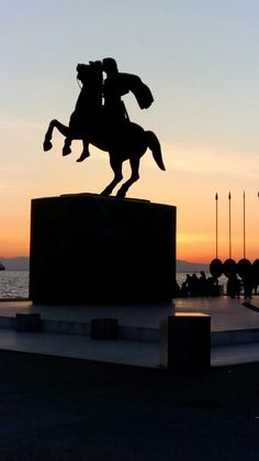 Thessaloniki Greece- Alexander the great - Makedonia. Alexandre Le Grand, Alexander The Great, Macedonia, Greece Thessaloniki, Concert, Places, Paradise, Destinations, Travel