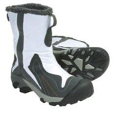 Keen Betty Boot Winter Boots - Waterproof Insulated (For Women) in White/Gargoyle