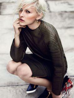 An Elegant Styling (Vogue.it)