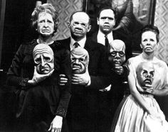 Horror Night: 7 TV Horror Shows That'll Keep You Up All Night -- You know what's better than horror movies? - Posted 2018 - Photo: The Twilight Zone Twilight Zone The Masks, Twilight Zone Episodes, Illuminati, Horror Show, Horror Movies, Scary Movies, Awesome Movies, Black Mirror, Fullmetal Alchemist