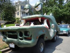 2011 Art Car Parade, Houston TX.