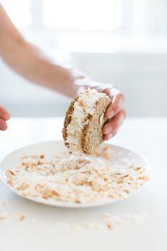 Tropical 'Nice' Cream Sandwiches (vegan) from Fraiche Nutrition