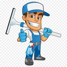 Cleanliness Window cleaner Business Household Housekeeping - A man carrying a glass wipe Cleaning Master, Window Cleaner, Car Wash, Housekeeping, Man, Household, Clip Art, Windows, Logos
