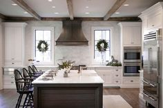 Flush vent hood kitchen traditional with recessed lighting metal range hood