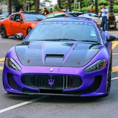 """MadWhips Maserati Photos on Instagram: """"Purple Gran Turismo Follow @EssentialsCreed ⌚ Follow @EssentialsCreed ⌚ # Freshly Uploaded To www.MadWhips.com Photo by @exoticars_sg"""""""